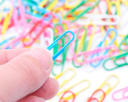 Paper clips Stock Photo - 13851772