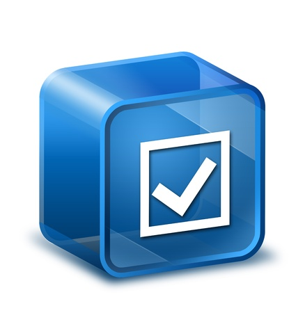 online form: Transparent to the 3d icon