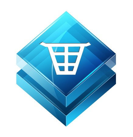 Transparent to the 3d icon Stock Photo - 14625643