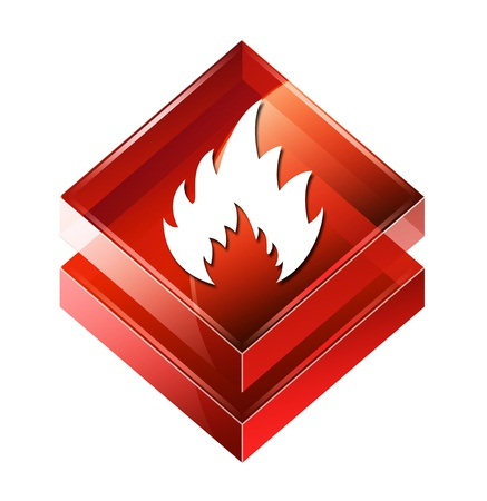 firefighting: Transparent to the 3d icon