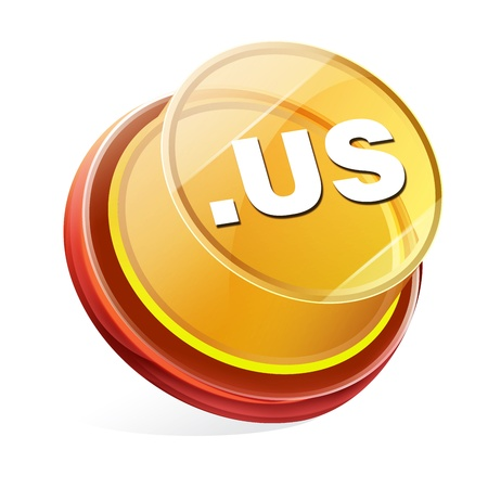 Transparent to the 3d icon Stock Photo - 14711882