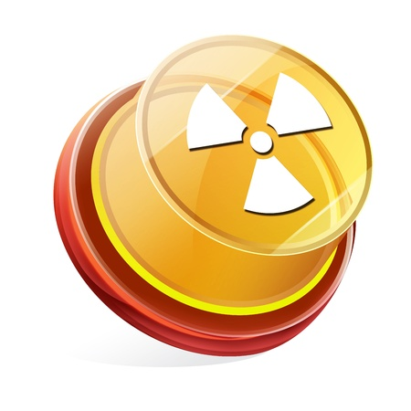 Transparent to the 3d icon Stock Photo - 14711672