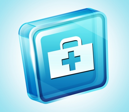 Transparent to the 3d icon Stock Photo - 15881949