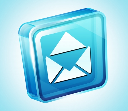 webmail: Transparent to the 3d icon