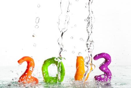 Happy New Year 2013 Standard-Bild