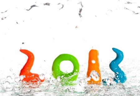 Happy New Year 2013 Stock Photo - 16714120