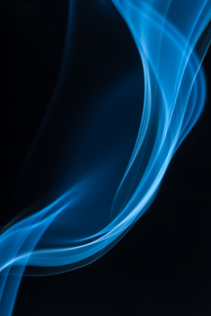 Color of smoke in the white background