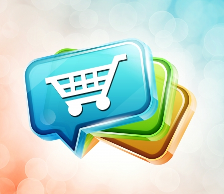 Transparent to the 3d icon Stock Photo - 18201383