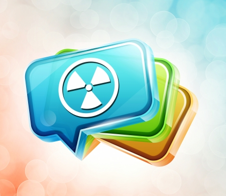 Transparent to the 3d icon Stock Photo - 18201398