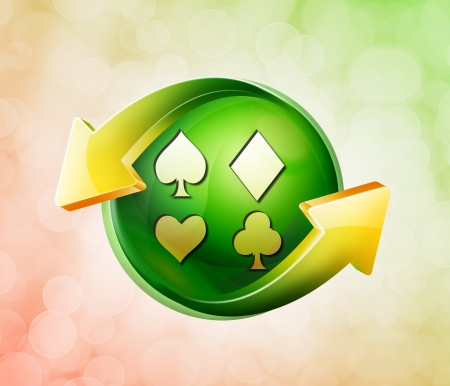 On behalf of the spring green icon
