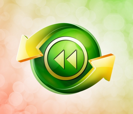 playback: On behalf of the spring green icon