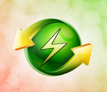 electroshock: On behalf of the spring green icon