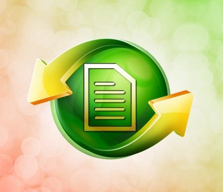 secretarial: On behalf of the spring green icon