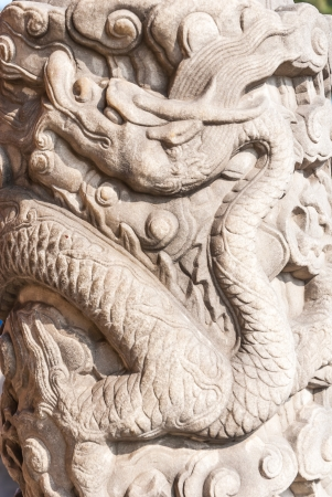 craft on marble: dragon stone pole