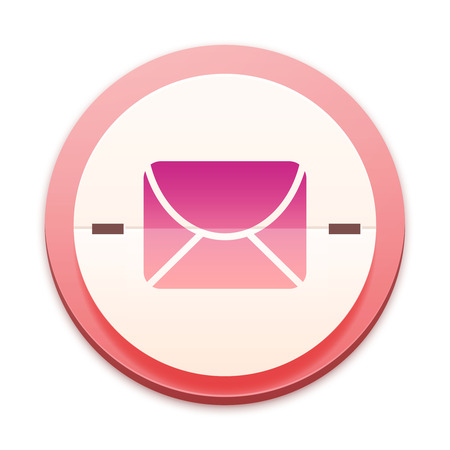 mailing: Pink icon, mailing concept