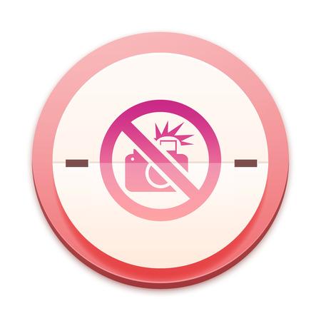 Pink icon, no camera symbol photo