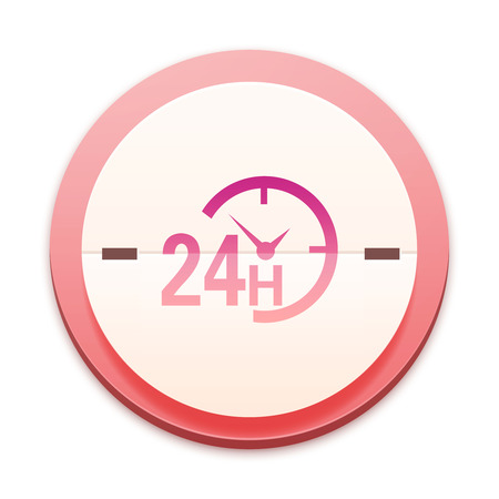 Pink icon, the whole series over 300 selectable Stock Photo