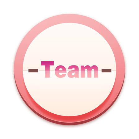 Pink icon, team concept photo