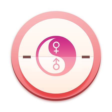 Pink icon, gender symbol photo