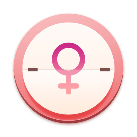 Pink icon, female icon photo