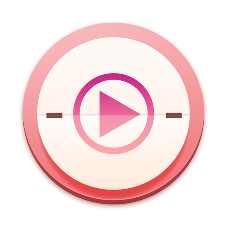 mpg: Pink icon, play the media symbol