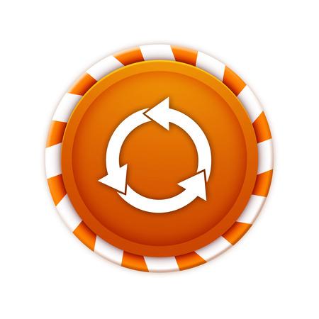 groupware: Tema de iconos de Navidad, cursor c�rculo