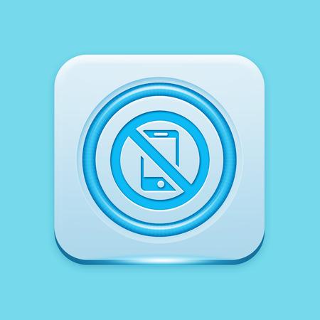 refrain: Blue icon edge light