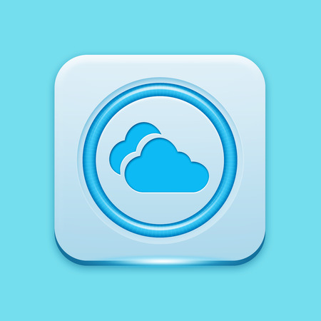 atmospheric: Blue icon edge light