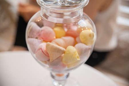 tucker: sweets in a jar Stock Photo