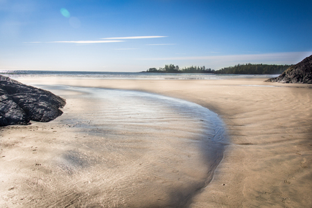 Amazing west coast of Vancouver Island Stock Photo