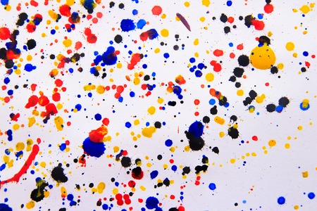 Abstract art creative background. Hand painted background. Pollock