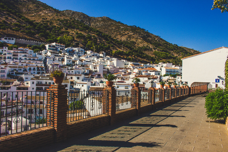 Street. A street in the city of Mijas. Costa del Sol, Andalusia, Spain.