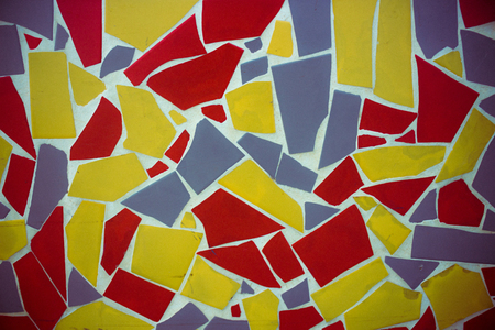 Mosaic. Multi-colored mosaic of ceramic tiles.