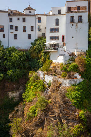 Ronda, a small village with white houses in Andalusia, Spain. Picture taken - 23 September 2020. Stock Photo