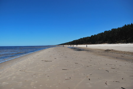 jurmala: seashore of Jurmala