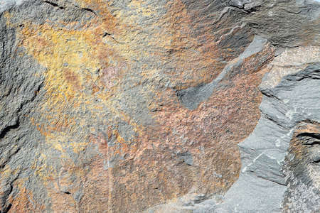 Texture of a colorful natural stone as a background Stock Photo