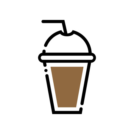 Coffee to go vector illustration