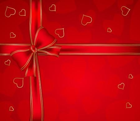 Valentines day card Stock Illustratie