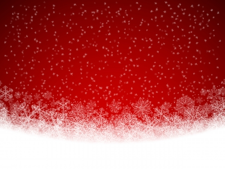 snow falling: Sfondo invernale con neve che cade
