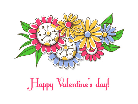 112,665 Valentines Flowers Stock Illustrations, Cliparts And ...