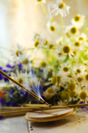 smokestack Aromatic sticks with the scent of flowers