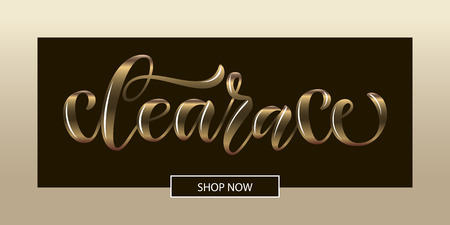 Hand drawn promotional design for banner on website, clothes store. Drawn art sign. Art illustration of logotype for sale, give away, discount,sell out, clearance, closeout, fashion, souvenir, shop