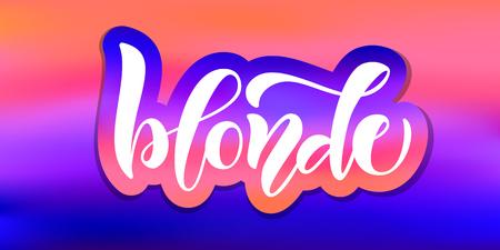 Calligraphy text for t-shirt women design, feminine internet shop. Curve lettering for original collection, fashion brand. Hand sketched banner, print or decor for souvenir goods, phone case, label Illustration