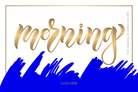 Promotional vector calligraphy text for clothes shop, women website, internet blog. Hand sketched lettering typography for decoration, sell out, promotion, discount, print, design, art, Information
