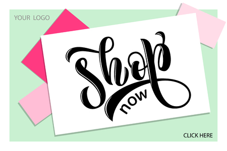 Drawn art vector calligraphy logotype for women internet site of clothes, blog icon, advertisement of promotion, modern concept for poster, card, design,template for girlie beauty web page,email offer Stok Fotoğraf - 103783437