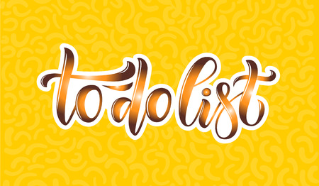 Hand sketched lettering typography for webpage, internet site of women clothes, flowers, souvenirs, accessories, shoes. Illustration EPS 10 for blog icon. Promotional banner for market, store, catalog Stok Fotoğraf - 103783536