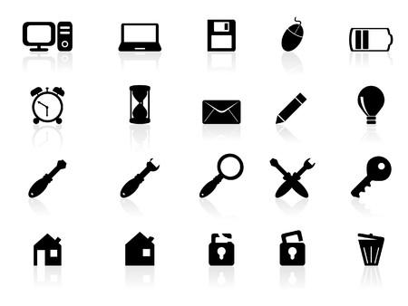 pilas: Iconos de Web