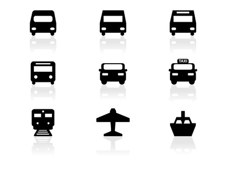 Iconos de Web  Ilustración de vector