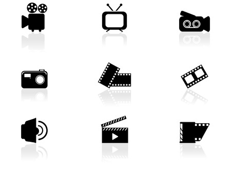 tv icon: Web icons  Illustration