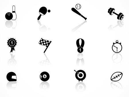 sports icon: Conjunto de iconos de deportes